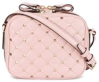 Valentino pink Rockstud Spike Leather cross body bag