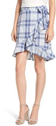 Somedays Lovin Playing Games Plaid Wrap Skirt