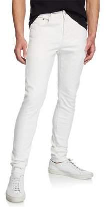 Purple Men's Slim-Fit Low-Rise Jeans