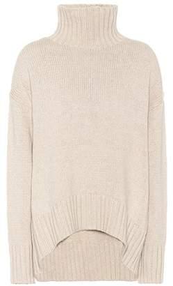 Joseph Knitted cotton-blend turtleneck sweater