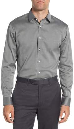 Nordstrom Trim Fit Twill Dress Shirt