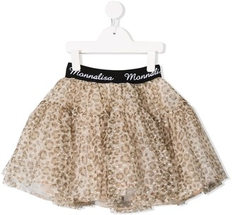 MonnaLisa leopard print tutu