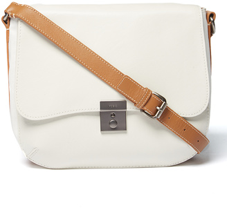 Ice Assembly Leather Messenger Bag $168 thestylecure.com