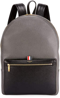 Thom Browne Men's Suberou Colorblock Leather Backpack