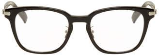 Yohji Yamamoto Black and Silver Square Glasses