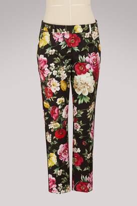 Dolce & Gabbana Flowers print pants