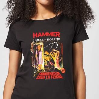 La Femme Hammer Horror Frankenstein Crea Women's T-Shirt