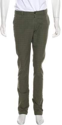 Etro Check Pattern Pants