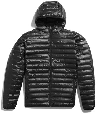 Columbia Flash Forward Down Hooded Jacket $139 thestylecure.com