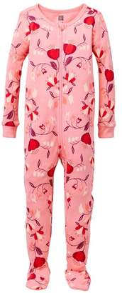 Tea Collection Caer Footie Pajamas (Baby Girls & Toddler Girls)