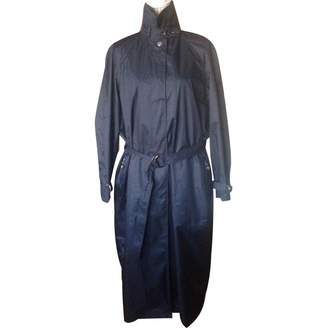 Georges Rech Blue Trench Coat for Women