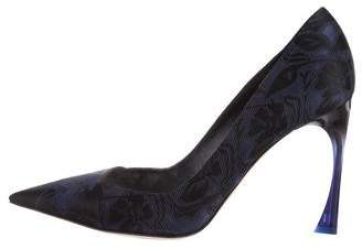 Christian Dior Songe Jacquard Pumps