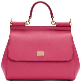 Dolce & Gabbana Pink Medium Sicily Bag