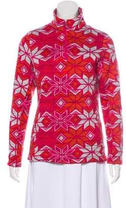 Spyder Pattern Knit Sweater