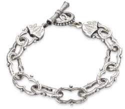 Konstantino Classics Sterling Silver Toggle Bracelet