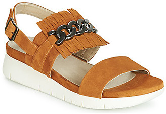 Dorking 7863 women's Sandals in Brown