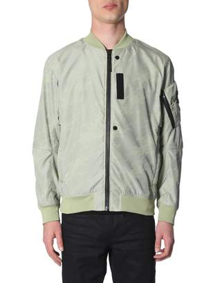 Stone Island Shadow Project shadow project lenticular jacquard bomber