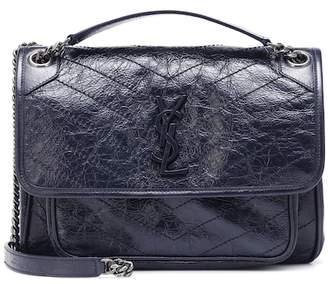 Saint Laurent Medium Niki leather shoulder bag