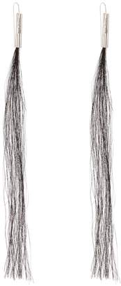 Helmut Lang Horse Hair 2004 earrings