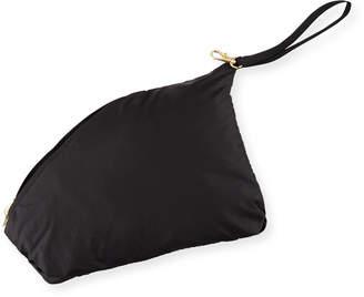 Mackage Ellia Packable Long Rain Coat w/ Removable Hood