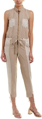 Young Fabulous & Broke Yfb Clothing Linette Linen-Blend Jumpsuit