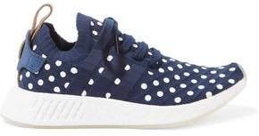 adidas Polka-Dot Stretch-Knit Sneakers