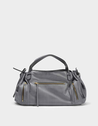 Gerard Darel Rebelle GD Bag in Zinc Calfskin