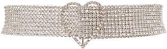 Markarian Dolly Heart-Accent Rhinestone-Embellished Brass Belt
