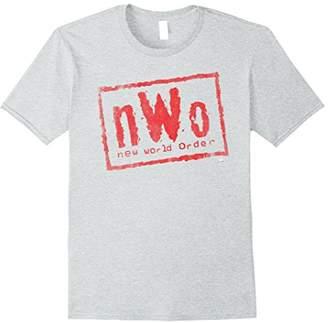 WWE nWo New World Order Wrestling Logo Graphic T-Shirt