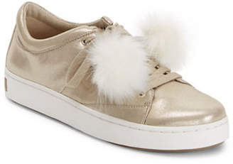 Isaac Mizrahi IMNYC Low Top Sneakers with Faux Fur