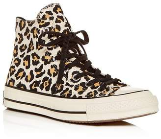 b78311a01a3401 Converse Chuck Taylor All Star Leopard-Print High-Top Sneakers