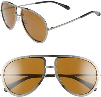 Givenchy 60mm Aviator Sunglasses