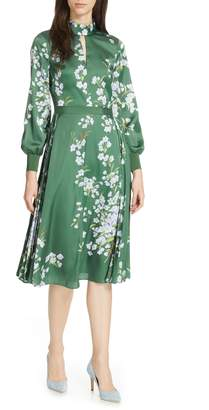 Ted Baker Jhenni Graceful Satin A-Line Dress