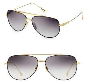 Dita Eyewear Flight 004 61MM Aviator Sunglasses