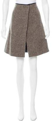 Mayle Tweed Wrap Skirt