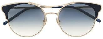 Jimmy Choo Eyewear round cat eye sunglasses