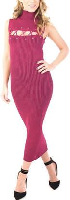 Ronny Kobo Jerica Rib Knit Dress