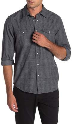 Joe Fresh Glen Plaid Print Standard Fit Shirt