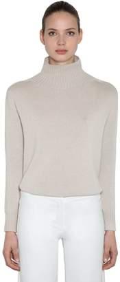 Max Mara 's High Collar Cashmere Knit Sweater