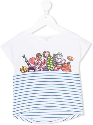 Little Marc Jacobs candy galaxy print T-shirt