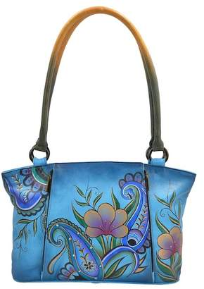 Anuschka Hand-Painted Leather Large Tote