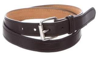 Theory Leather Waist Belt
