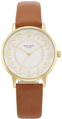 Scallop metro watch $195 thestylecure.com