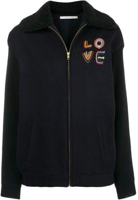 Parker Chinti & Love back embroidered jacket