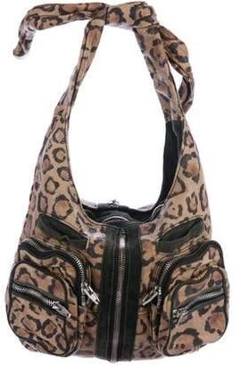 Alexander Wang Donna Leopard Print Leather Bag