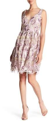Marina Embroidered Sleeveless Dress (Petite)