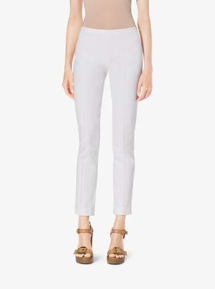 Michael Kors Stretch Cotton-Twill Skinny Pants
