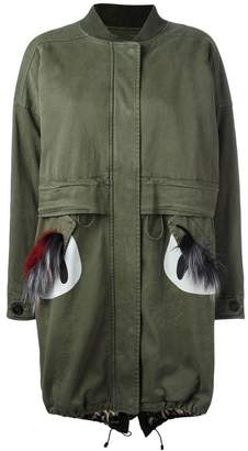 Bazar Deluxe fur pockets parka