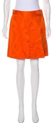 Dolce & Gabbana Floral Print Mini Skirt