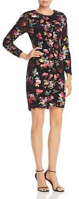 Parker Adrienne Floral Mesh Dress